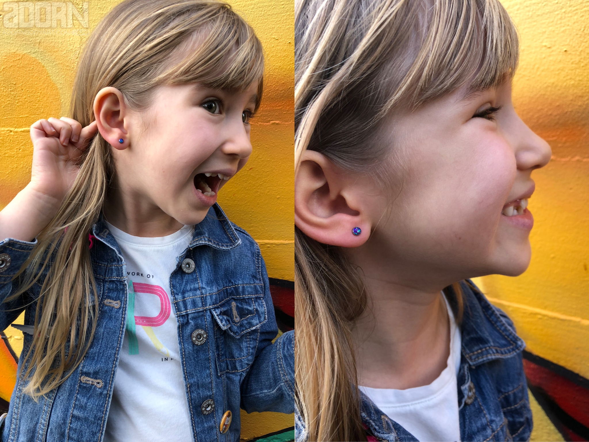 Ear Piercing For Kids Children Adorn Body Art Portland Or